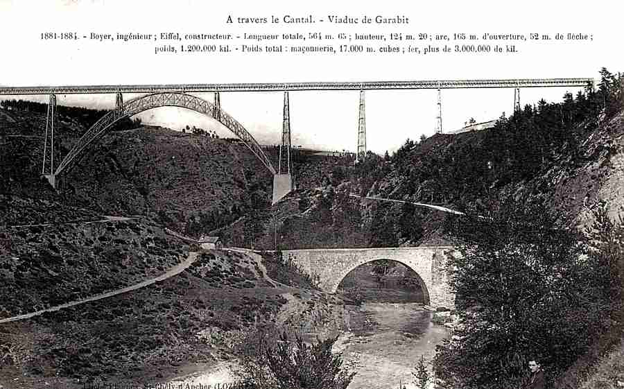 A travers le Cantal - Viaduc de Garabit
