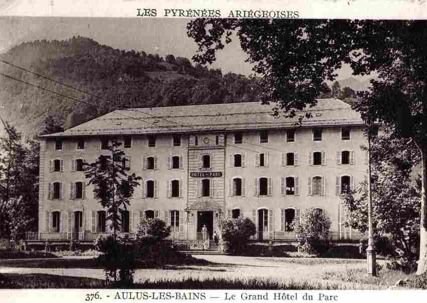 Le Grand Hotel Aulus Les Bains