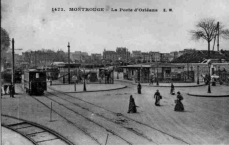Les anciennes portes de paris photos anciennes et d 39 autrefois photographies d 39 poque en noir et b - Arrondissement porte d orleans ...