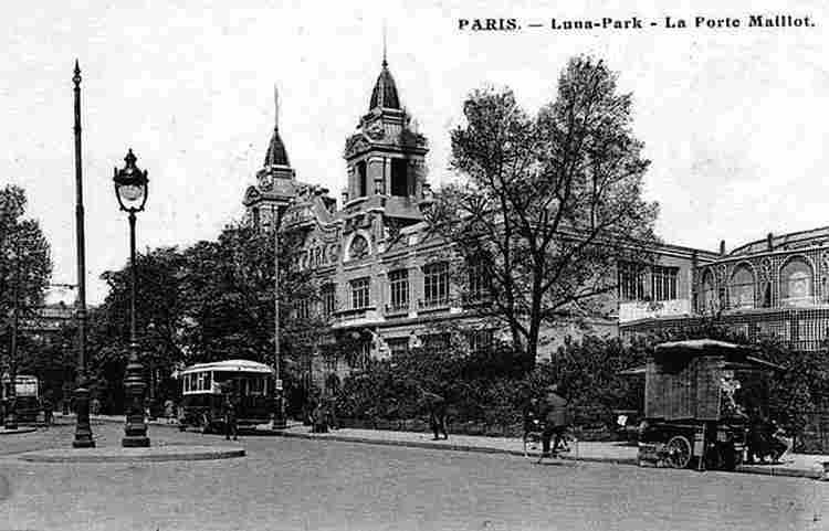 Luna park photos anciennes et d 39 autrefois photographies d 39 poque en noir et blanc - Lac des cygnes porte maillot ...