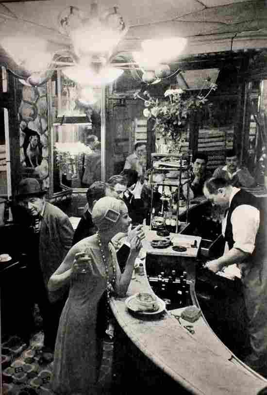 bistrots caf s et tabac parisiens photos anciennes et d. Black Bedroom Furniture Sets. Home Design Ideas